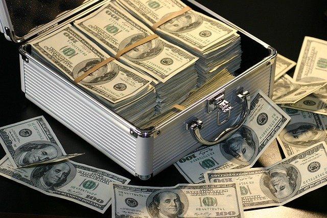 kufr s výhrou