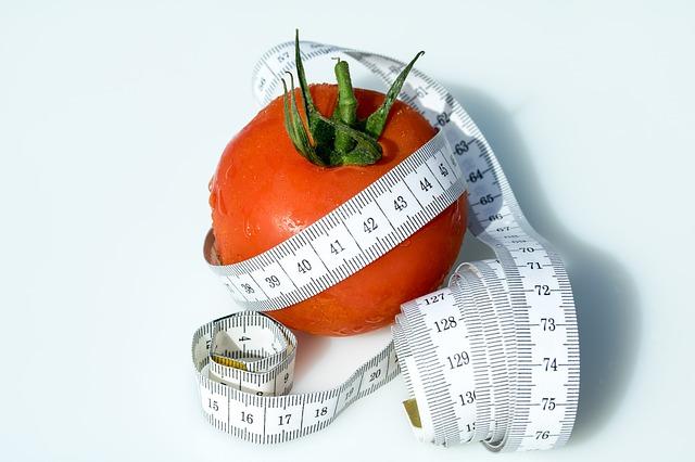 rajče a metr