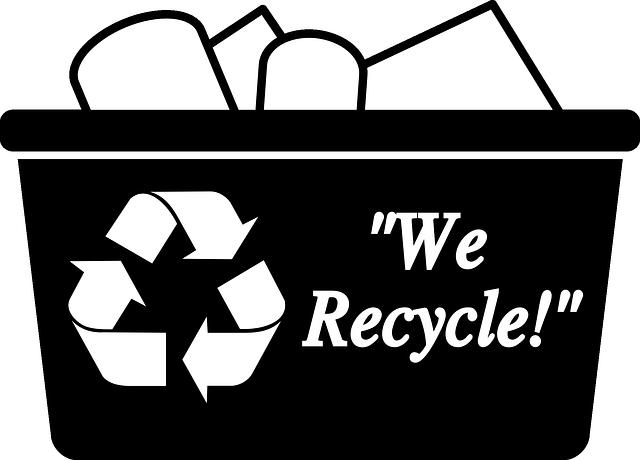 koš recyklace