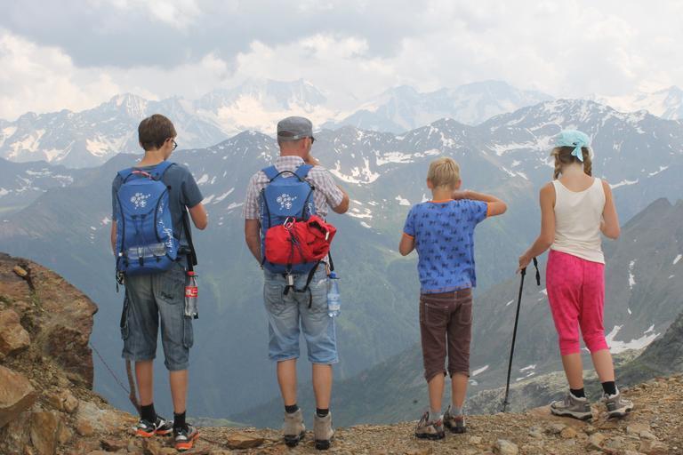 děti na školním výletu