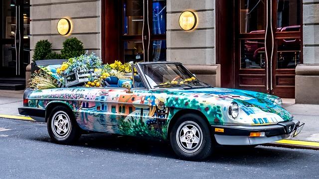 Dekorace aut