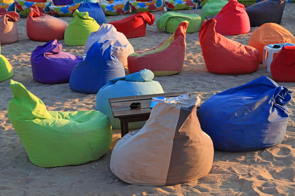 vaky na písku